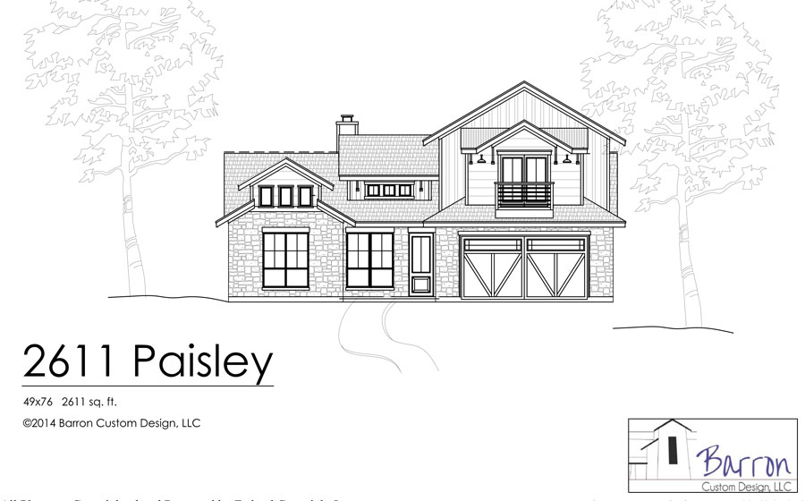 2611-Paisley-Front-Elevation